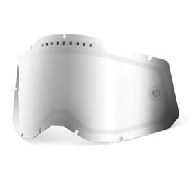 100% Vented Dual Replacement Lenses Gen2, srebrny